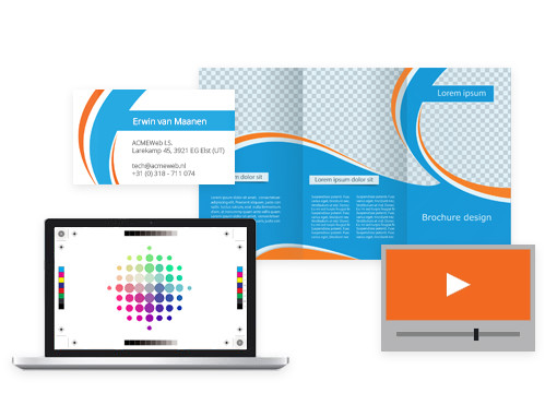 Corporate identity, print design, animatie en video - Wat zegt uw content over u?